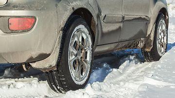 likainen auto