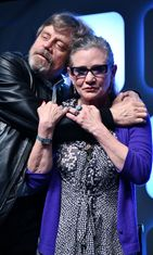 Mark Hamill, Carrie Fisher heinäkuu 2016