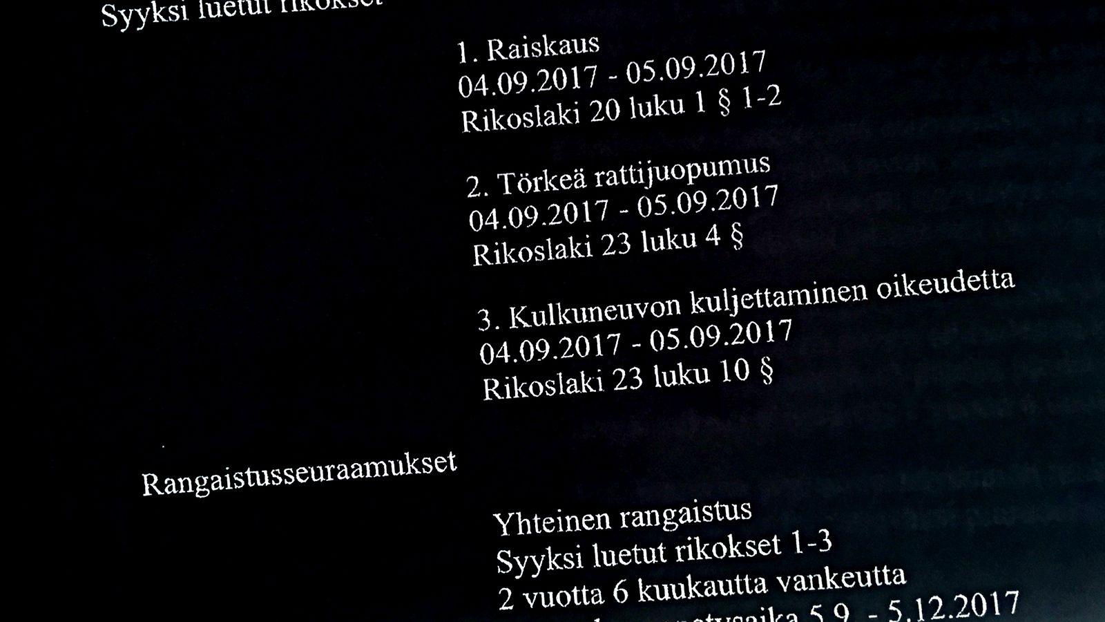 Nuori nainen raiskattiin ravintolassa sulkemisajan jälkeen – tekijä pyysi koko ajan anteeksi - Rikos - Uutiset