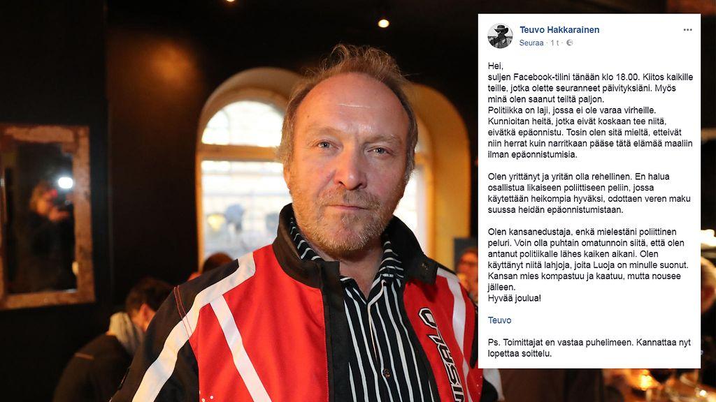 Teuvo Hakkarainen Facebook