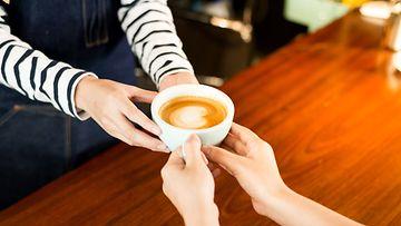 barista, kahvi, asiakas