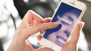 kasvot, älypuhelin, facebook