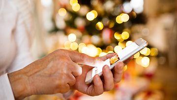 kännykkä, älypuhelin, lahja, joulu