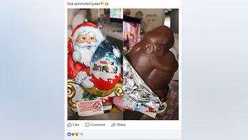 joulupukki, kinfer, facebook