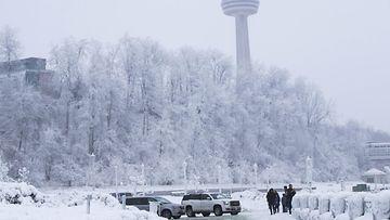 Niagaran putoukset talvi pakkanen AOP 2