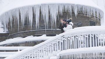 Niagaran putoukset talvi pakkanen AOP 4