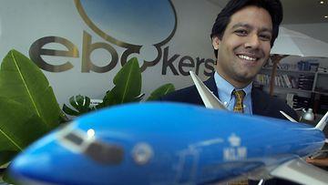 EBookersin johtaja Prashant Sahni.