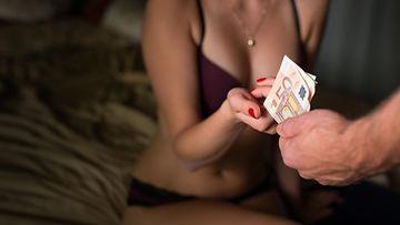 seksi myy raha prostituutio