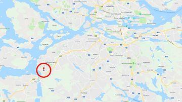 Vårby Gård kartta