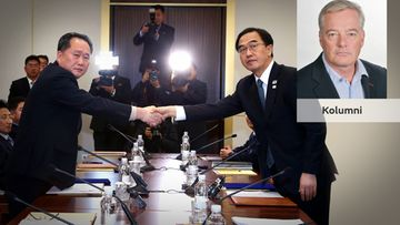 MTV:n kirjeenvaihtaja Petri Saraste kommentoi Pohjois-Korean olympia-aikeita.