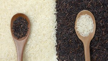riisi valkoinen tumma
