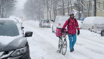 Helsinki lumi
