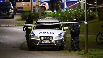 Ruotsi poliisi Malmö jengi väkivalta 1