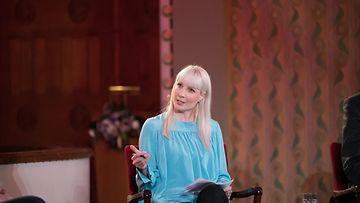 MTV presidentinvaalitentti Laura Huhtasaari