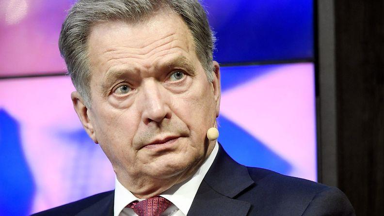 Sauli Niinistö, presidentinvaalit 2018