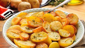 peruna uuniperunat paahdetut perunat