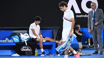 Hyeon Chung Roger Federer