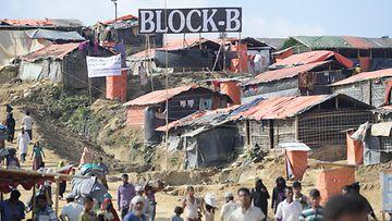 Rohingya pakolaisleiri Bangladesh