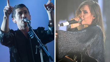 Arctic Monkeys Alex Turner ja Lykke Li