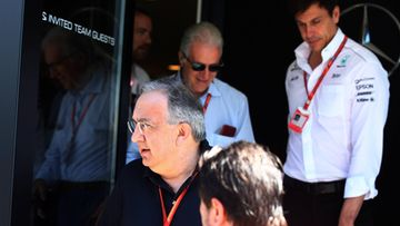 Toto Wolff & Sergio Marchionne