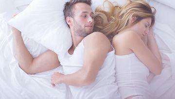 pariskunta, sänky
