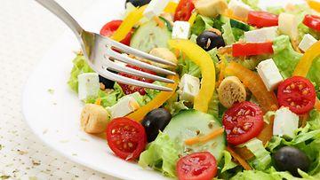salaattiannos haarukka