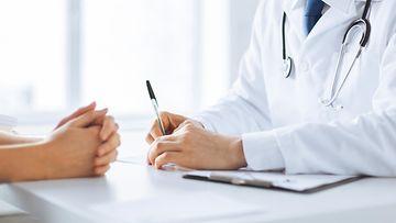 lääkäri potilas lääkärikäynti
