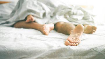 pariskunta sänky