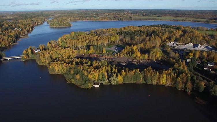 Lohja Hiidensalmi, tuleva asuntomessualue //kuva: kaupallinen yhteistyö