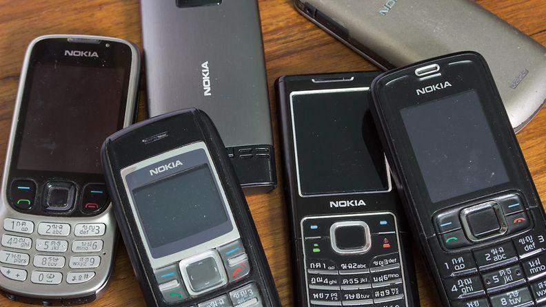 retro kännykkä vanha nokia matkapuhelin