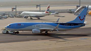 AOP TUI lentokone lentokenttä loma