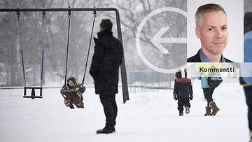 Ilkka Ahtiainen, perhevapaauudistus