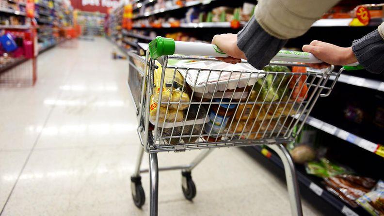 eines ruokakauppa ostoskärry