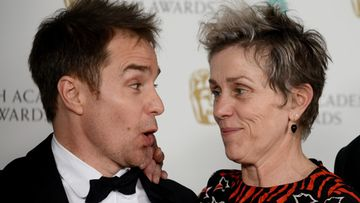 Sam Rockwell ja Frances McDormand Getty