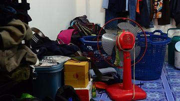 sotku huone tavarakasa