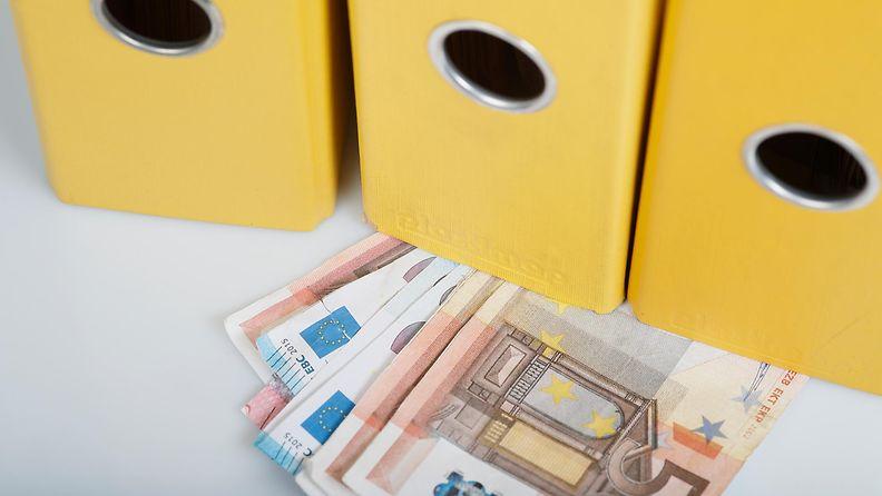 Rahaa, euroja kirjanpito AOP