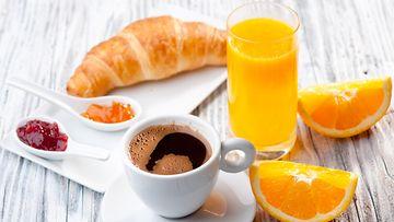 aamupala appelsiinimehu