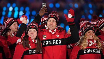 Kanada olympialaiset pyeongchang olympia-asu