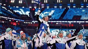 suomi olympialaiset pyeongchang olympia-asu