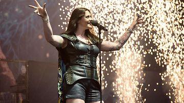 Nightwish Floor Jansen Download-festivaali kesäkuu 2016