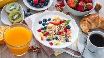 aamupala aamiainen