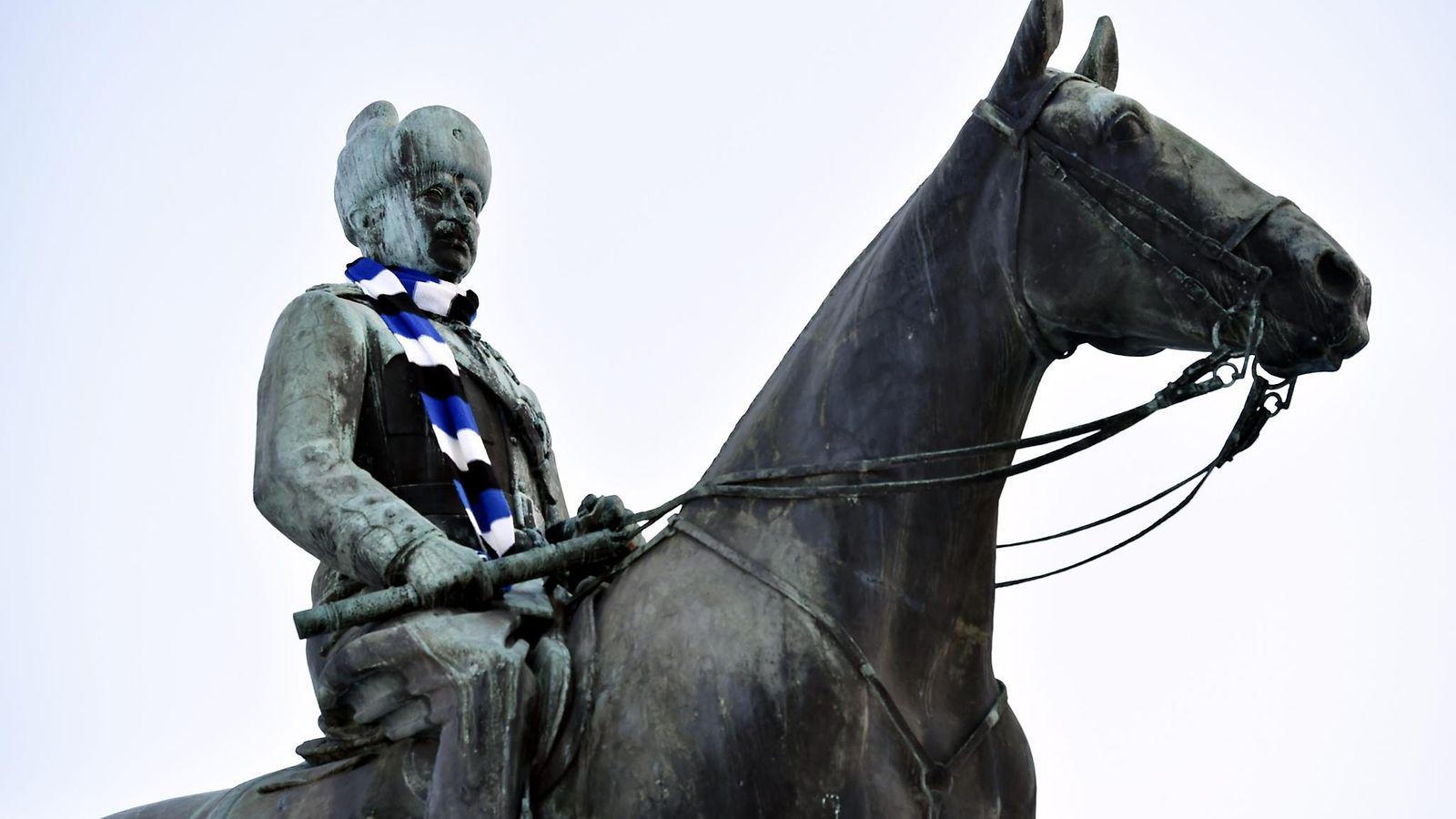 Mannerheimille huivi, Hesarille uusi nimi, Ylen tornin valot: Näin Suomessa osallistutaan Viron ...