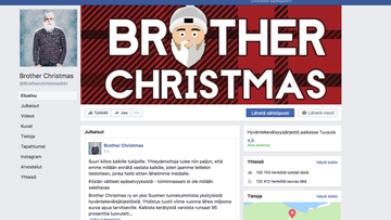 Brother christmas facebook
