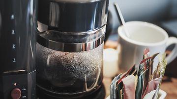 kahvinkeitin kahvi