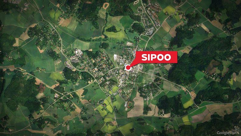 sipoo LUKKARINMÄENTIE  kartta