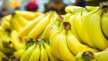 banaani kauppa hedelmäosasto