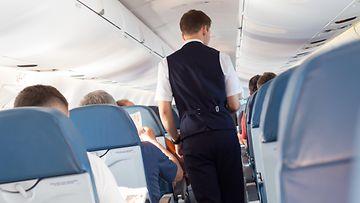 lentokone matkustamo