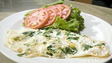 omeletti aamupala