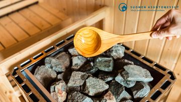 Sauna asuntomessut-artikkeli