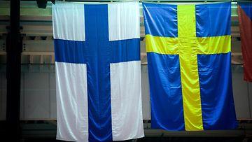 Suomi Ruotsi liput AOP